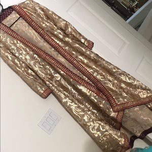 Other - Gold sequined maxi gown.Brand New